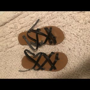 Roxy strappy sandals, comfy, cute.